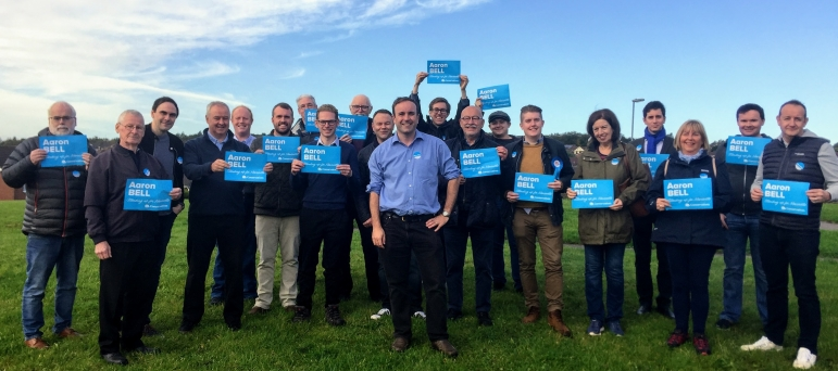 Newcastle-under-Lyme Conservatives and Aaron Bell MP